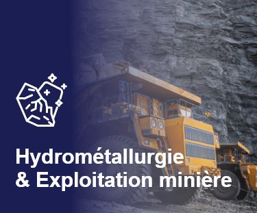 Accueil Industrie Application Hydrometallurgie
