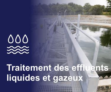 Accueil Industrie Application Traitement des eaux usées